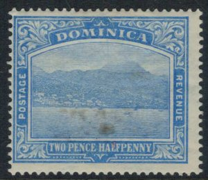 Dominica #53* some toning  CV $9.50