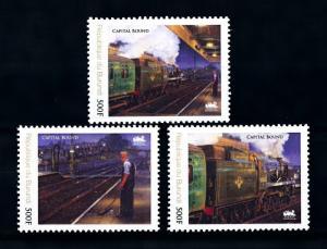 [93131] Burundi 2012 Railway Train Eisenbahn  MNH
