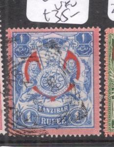 Zanzibar SG 220a VFU (4dln)