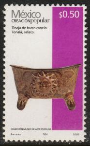 MEXICO 2488, 50¢ HANDCRAFTS 2005 ISSUE. MINT, NH. F-VF.