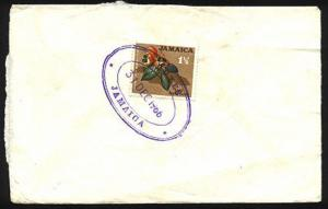 JAMAICA 1966 cover with DUXES TRD