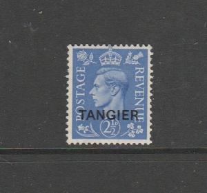 Tangier 1949 GV1 Defs 2 1/2d MM SG 262