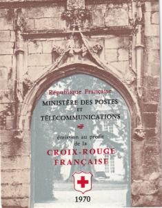 France #B443a Red Cross Booklet $12.50 Z50