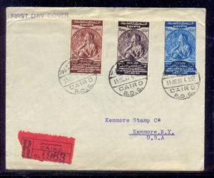 EGYPT- 1937 Abolition of Capitulations at the Montreux Conference Travel to USA