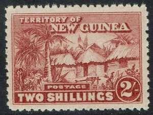 NEW GUINEA 1925 HUT 2/-