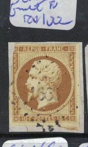 France SC 10 Fault At Upper Left FU (3dql)