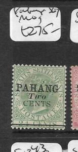 MALAYA PAHANG  (P0109B) QV 2C/24C SG7  MOG