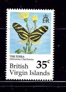 Virgin Is 717 MNH 1991 Butterflies