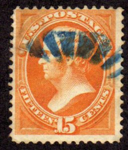 MALACK 152 F/VF, vibrant color and eye popping blue ..MORE.. w5351