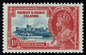 Gilbert and Ellice Islands SG# 37, Unlisted Plate Flaw See Notes -  Lot 080716