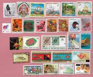 Papua New Guinea MNH Mixture