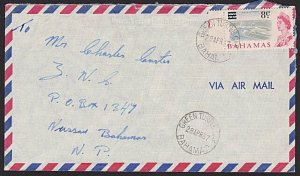 BAHAMAS 1967 local cover GREEN TURTLE CAY cds...............................6581