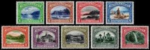 Trinidad & Tobago Scott 34-42 (1935-37) Mint H VF Complete Set, CV $87.15 M
