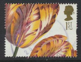 Great Britain SG 1958  Used  - Greetings Flower Paintings