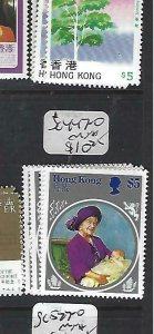 HONG KONG  (P2909BB)  QUEEN     SCOTT  447-50    MNH