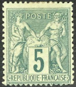 1894 French Colonies Sudan
