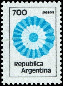 Argentina #1214  MNH - 700p Rosette (1980)