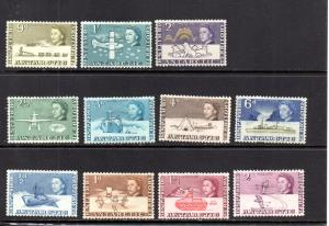British Antarctic Territory 1-11 MH