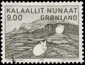 Greenland Scott 118 Used.