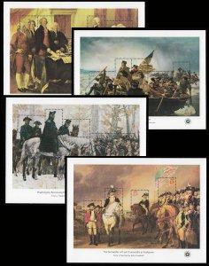 US #1686-89 18c Declaration of Independence Sheet, VF/XF OG NH, fresh sheets,...