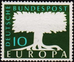 Germany. 1957 10pf S.G.1187 Unmounted Mint