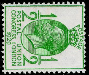 SG434a, ½d green, M MINT. Cat £55. WMK SIDE