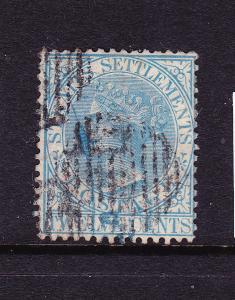 STRAITS SETTLEMENTS  1867-72  12c  QV    FU   SG 15a
