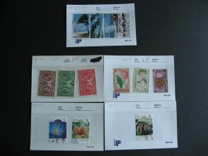 Cayman Islands collection assembled in sales cards