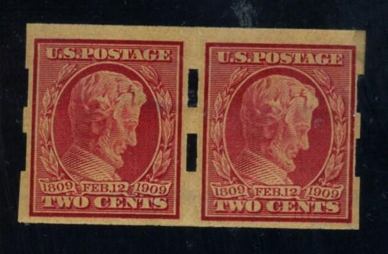 368 MINT Schermack Type 2 Pair F-VF OG Very LH Cat$75