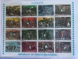 Rep de Guinea Ecuatorial Napoleón Bonaparte 1769-1821  Stamps Sheet R26006