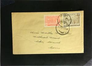 Malaya 1957 Cover to Sarawak - Z2232
