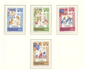 Faroe Islands Sc 86-91982 Ballads stamp set mint NH