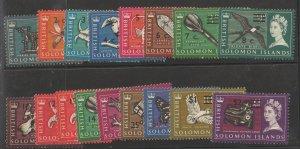 Solomon Islands   SC 149-62,164-6 Mint Hinged/Mint Never Hinged