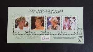 Niue 1998 Diana, Princess of Wales Commemoration  Mint