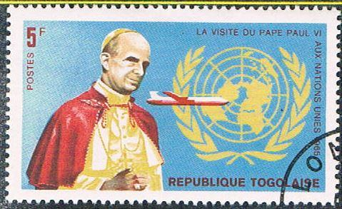 Togo 549 Used Pope Paul VI (BP11113)
