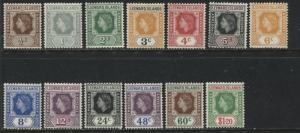 Leeward Islands QEII 1954 all values to $1.20 mint o.g.