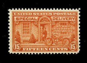 US 1922 Sc# E 16 - 15 c Special Delivery - Mint NH - Crisp Color -
