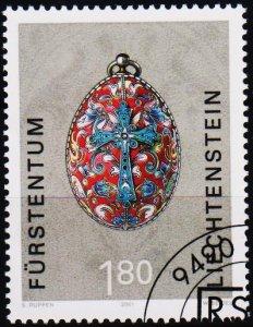 Liechtenstein. 2001 1f80 S.G.1244 Fine Used