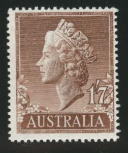 Australia  Scott 301 MNH** QE2 1957 stamp