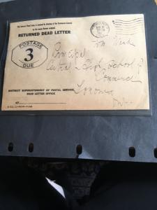 Canada RETURNED DEAD LETTEREnvelope POSTAGE/DUE/3 - Machine cancelToronto/31