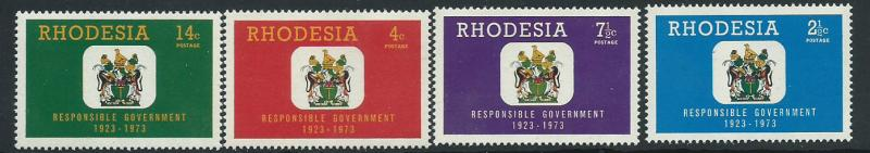 Rhodesia SG 484 - 487 set of 4   MUH