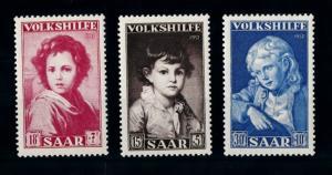 [70149] Germany SAAR Saarland 1952 Volkshilfe Paintings of Maler  MNH