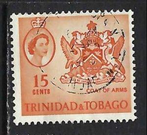 TRINIDAD & TOBAGO 116 VFU ARMS V245-1