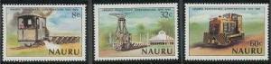 Nauru 214-216 MNH (1980)