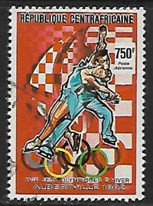 Central African Republic # 954 - Figure Skating - used....(BRN8)