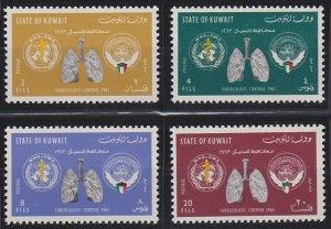 Kuwait 204-207 MNH (1963)