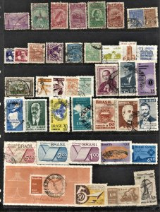 STAMP STATION PERTH Brazil #41 Mint / Used Selection - Unchecked