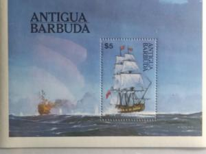 ANTIGUA BARBUDA $ 5.00 SHEETLET MINT NEVER HINGED
