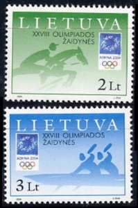 2004 Lithuania 855-856 2004 Olympic Games in Greece 4,00 €