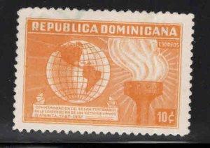 Dominican Republic Scott 334 Used stamp light camce;